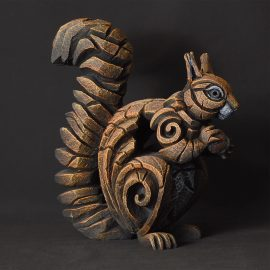 Squirrel Red by Edge Sculpture