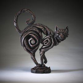 Cat Black by Edge Sculpture
