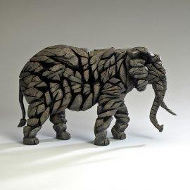 Elephant (Mocha) by Edge Sculpture