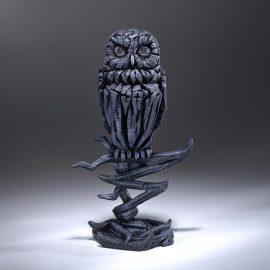 Owl - Midnight Blue Edge Sculpture