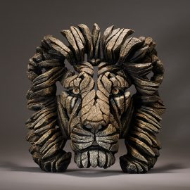 Lion Bust Savannah by Edge Sculpture