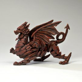 Dragon - Red by Edge Sculpture
