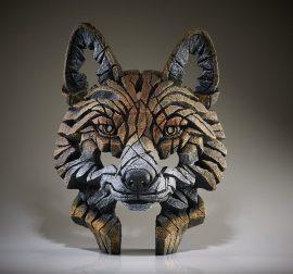 Fox Bust by Edge Sculpture