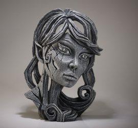 Elf Bust (Mistral) by Edge Sculpture