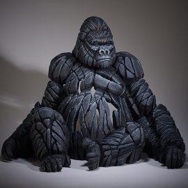 Gorilla (Sitting) by Edge Sculpture