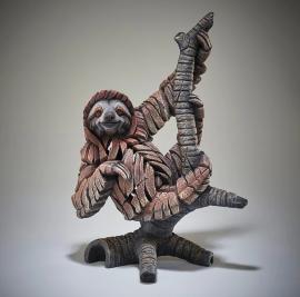 Three Toed Sloth by Edge Sculpture