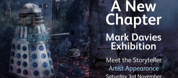 """Mark Davies Exhibition """"A New Chapter"""" 03/11/18"""