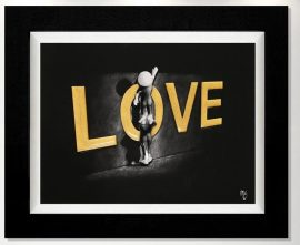 Love Lifts Up (3D Gloss) by Mark Grieves