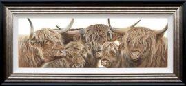 Meet The Family by Gina Hawkshaw (Canvas)