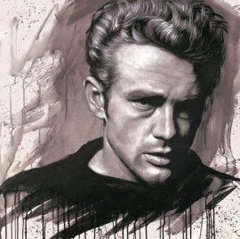 James Dean by Jen Allen