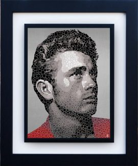 James Dean - The Rebel by Paul Normansell