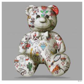Teddy Bear Grey by Monica Vincent