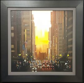 NYC Sundown Original by Neil Dawson