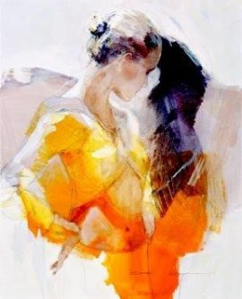 Affected by You (Box Canvas) by Christine Comyn