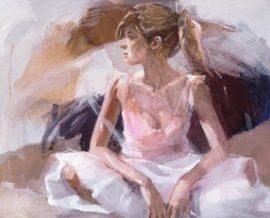 On The Threshold (Box Canvas) by Christine Comyn