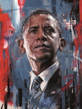 Barack Obama by Zinsky
