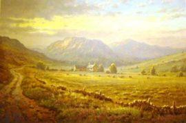 Highland Pastures by James Preston