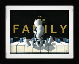 We Are Family (3D High Gloss) by Mark Grieves