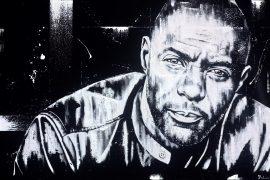 Idris Elba Original by Sarah Holmes