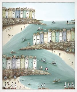 Shore Thing (Box Canvas) by Rebecca Lardner