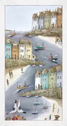 High & Dry I (Box Canvas) Rebecca Lardner