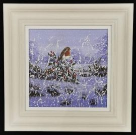 Winter Robin VI Original Mary Shaw