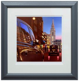 London Dusk Reflections Paper Edition by Neil Dawson