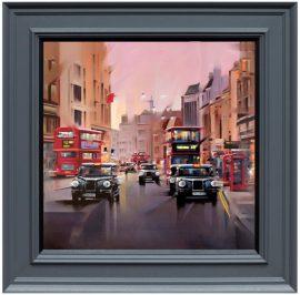 City Streets Canvas Edition by Neil Dawson