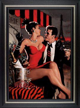 Midnight In Paris Canvas Edtion by Glen Orbik