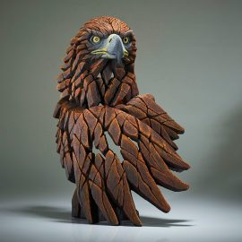 Golden Eagle Bust by Edge Sculpture