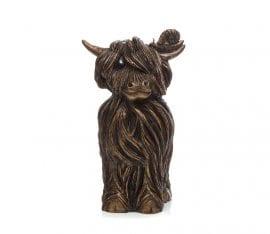 Finlay McMoo Sculpture by Jennifer Hogwood