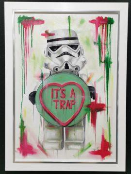 It's A Trap Original by Deborah Cauchi