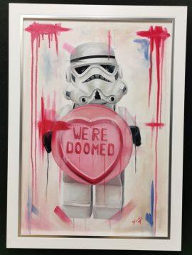 We're Doomed Original by Deborah Cauchi
