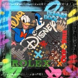 Donald & Chip Original by Hue Folk