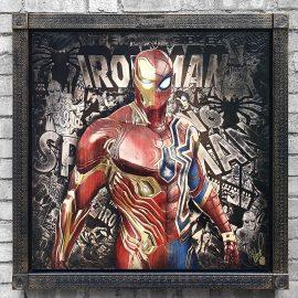 Mr Stark/ Peter Parker Original Variation 8 by Rob Bishop