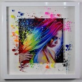 Rainbow Tears (Glass Edition) by Emma Grzonkowski