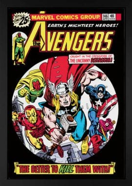 The Avengers #146 - Boxed Canvas Edition – by Stan Lee