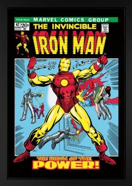 The Invincible Iron Man #47 - Boxed Canvas Edition – by Stan Lee