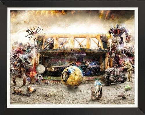 Rise of the Machine 2 Premium Canvas by Mark Davies