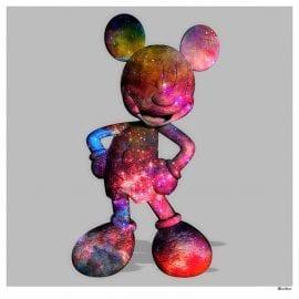 Nebula Mouse Grey by Monica Vincent