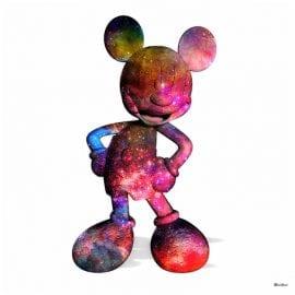 Nebula Mouse White by Monica Vincent