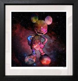 Nebula Mouse Black by Monica Vincent
