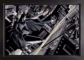 Batman Knight Over Gotham Deluxe Box Canvas by Alex Ross