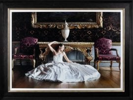 The Swan Canvas Edition by Rob Hefferan