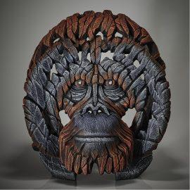 Orangutan Bust by Edge Sculpture