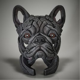 French Bulldog Bust - (Blue) by Edge Sculpture
