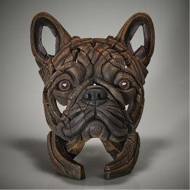French Bulldog Bust - (Brindle) by Edge Sculpture