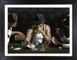 Stay Lucky (Canvas Edition) by Richard Blunt