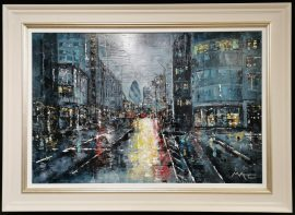 Lights of London Town Original by Mark Curryer