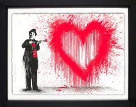 Spray Love by Mr Brainwash